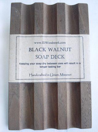 Black Walnut Soap Deck