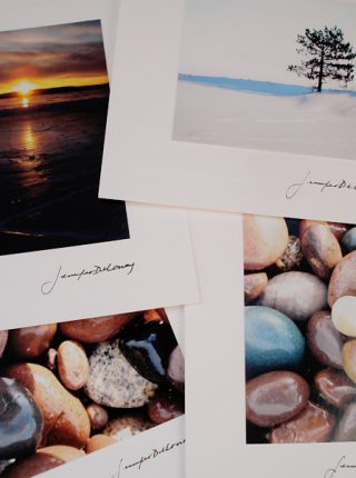 Lake Superior Rocks Note Card Set