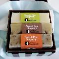 Royal Clutch Soap Set interior box