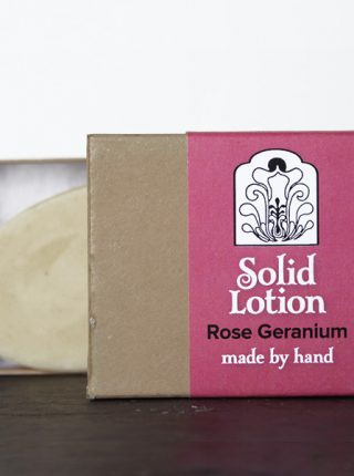 Rose Geranium Solid Lotion