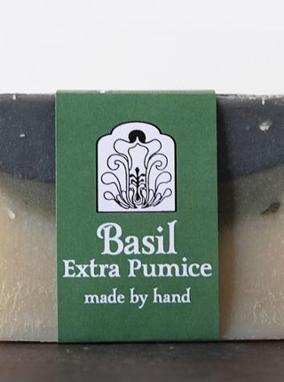 Basil Extra Pumice Soap