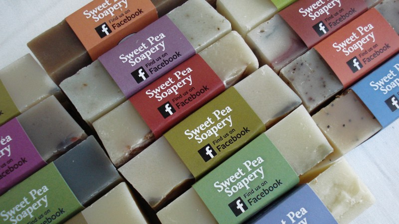 Sweet Pea soaps are affordable