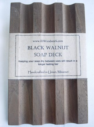 Black Walnut Soap Deck