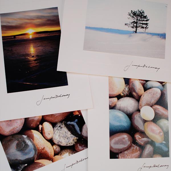 Lake Superior Rocks Note Card Set
