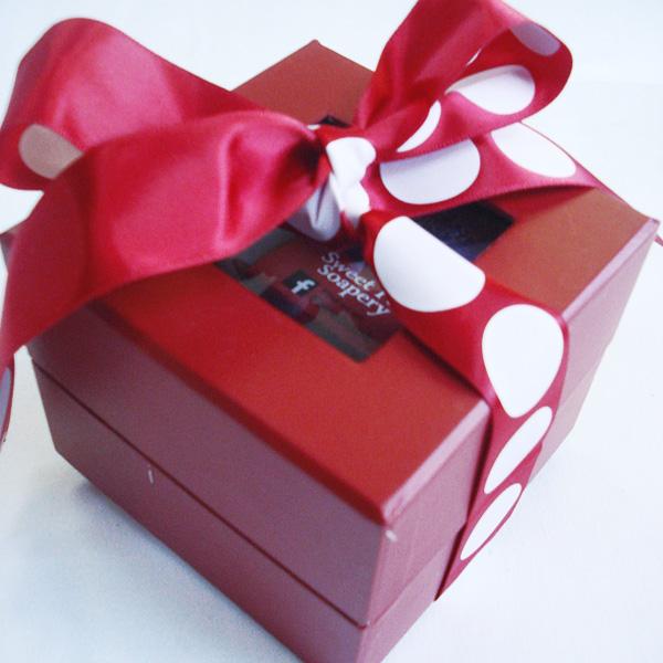Ruby Clutch Soap Set