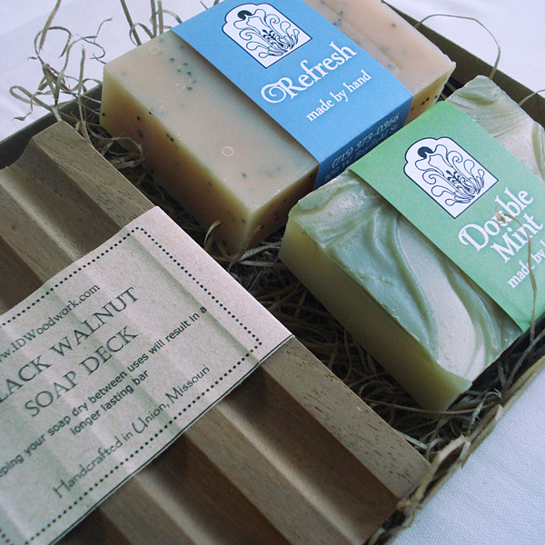 Mint Lover's Soap Set